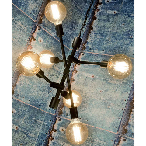 Nashiville 6 Arms Iron Pendant Light