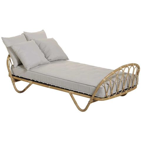 Natural Rattan Single Bed or Sofa