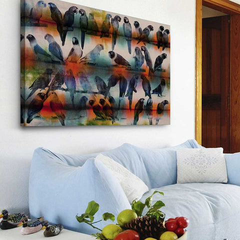 Chatty Birds Canvas