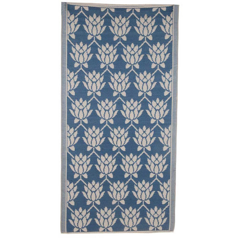 Dark Blue Indoor/Outdoor Rug - 180x90