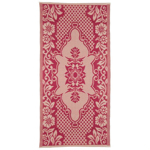 Dark Pink Indoor/Outdoor Rug - 180x90