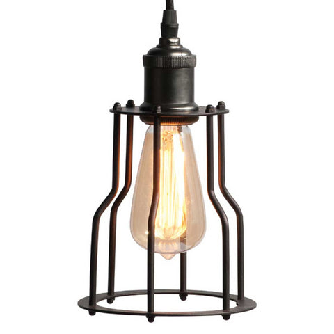 Riga Iron Cage Pendant Light
