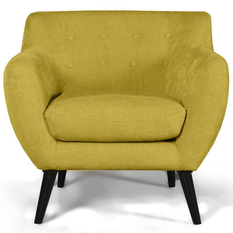 Riva Harvest Gold Retro Armchair