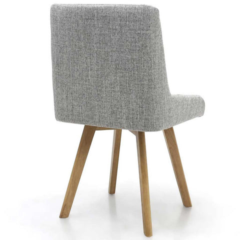 Skandi Grey Weave Dining Chair
