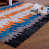 Unchained Patchwork Cowhide Rug