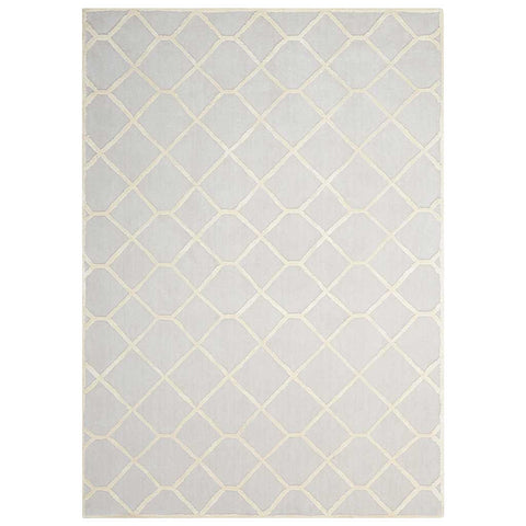 Vita Diamond Beige Hand Tufted Rug
