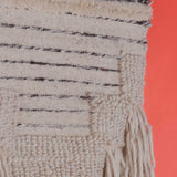 Volia Wool Jute and Silk Wall Hanging