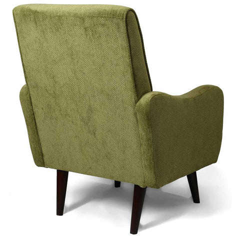 Zettle Olive Green Retro Armchair