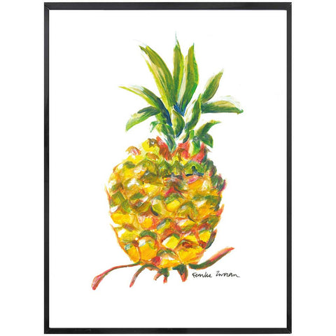 Pia | Pineapple Painting | Tropical | Art Print