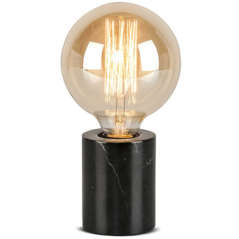 Athens Black Marble Table Lamp