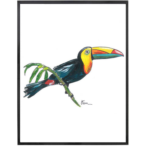 Andre | Toucan Painting | Tropical | Art Print