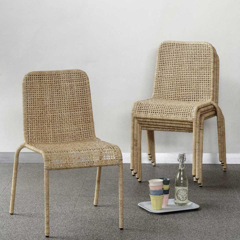 Set of 2 Trinidad Rattan Chairs