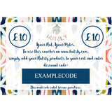 Hutsly Gift Voucher - From £10 to £200