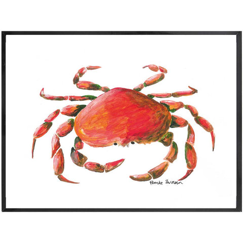 Oceania | Crab Painting | Sea Life | Art Print