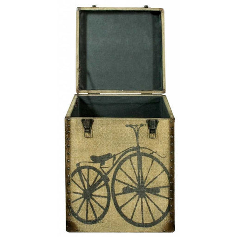 Bicycle Canvas Trunk
