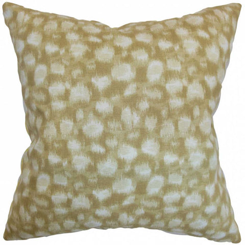 Imperatriz Geometric Cushion Cover in Sand