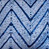Destry Zigzag Cushion Cover in Blue