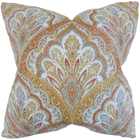 Xanthipe Paisley Cushion Cover in Amber