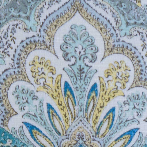 Xanthipe Paisley Cushion Cover in Caribbean Blue