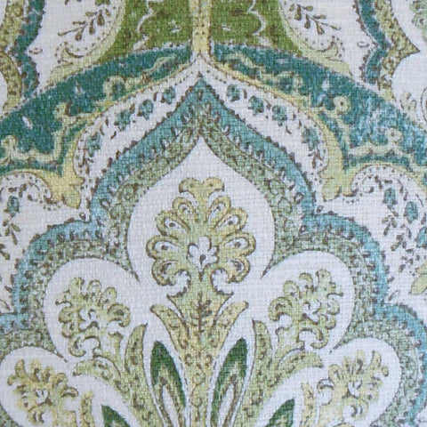 Xanthipe Paisley Cushion Cover in Peridot Green