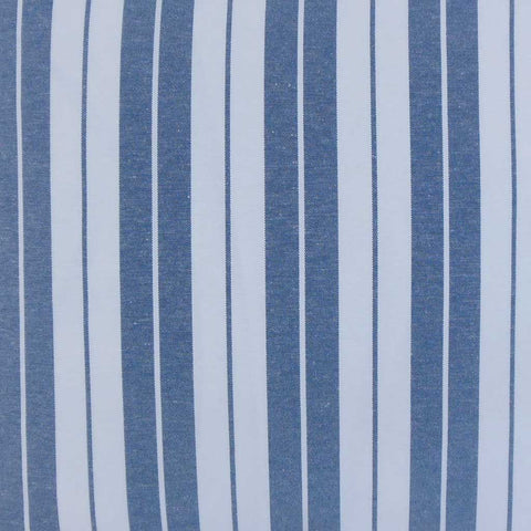 Henley Stripes Cushion Cover in Navy Blue