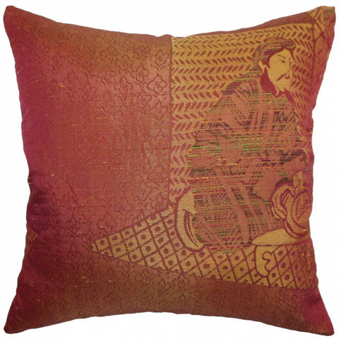 Harb Traditional Cushion Cover in Copper