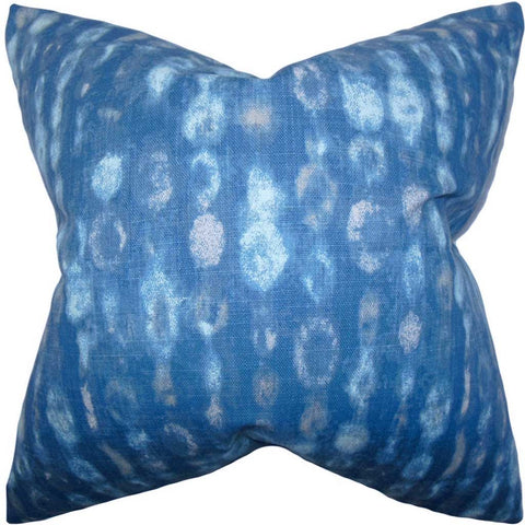 Verve Geometric Cushion Cover in Blue
