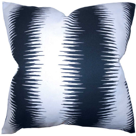 Garbo Geometric Cushion Cover in Black