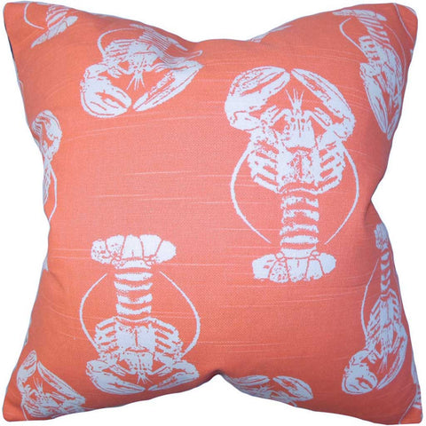 Haya Animal Print Cushion Cover in Orange
