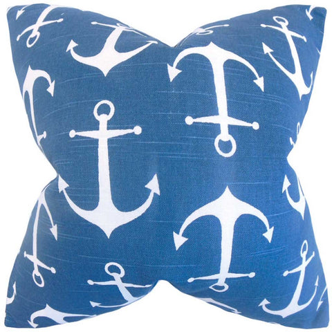 Gish Coastal Cushion Cover in Blue