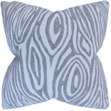 Thirza Swirls Cushion Cover in Grey