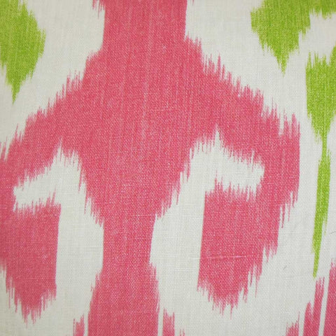 Cleon Ikat Cushion Cover in Pink