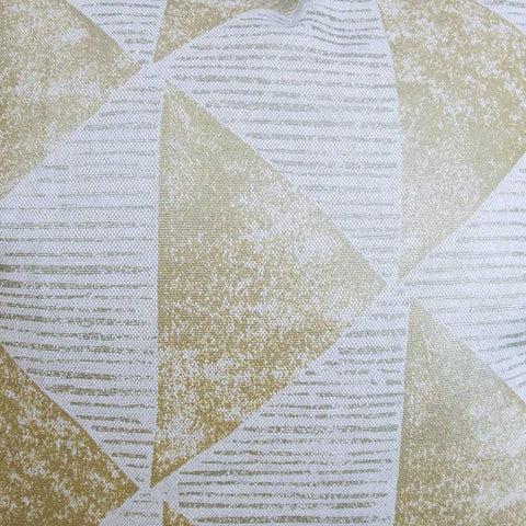 Finula Geometric Cushion Cover in Gold