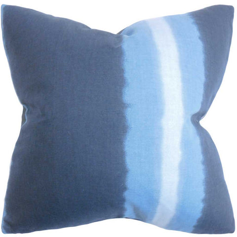 Djuna Stripe Cushion Cover in Blue