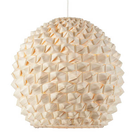 Globe Natural Bamboo Sagano Pendant Light