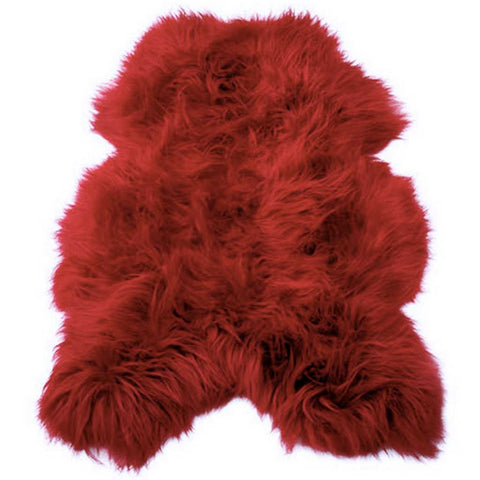 Red Icelandic  Sheepskin