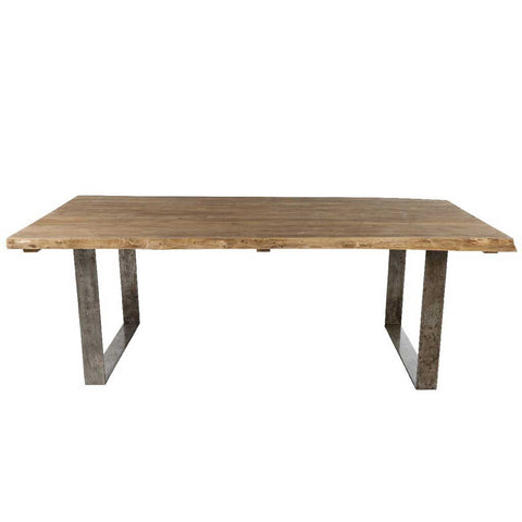 Arthur | Dining Teak Table | Brushed Teak