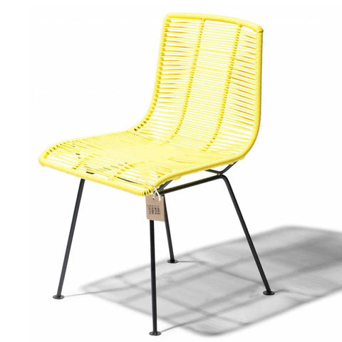 Rosarito Yellow Dining Chair