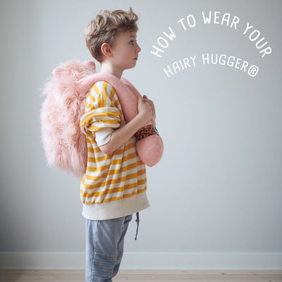 Hairy Hugger® Black/Pink/Yellow/ Turquoise/ Lilac