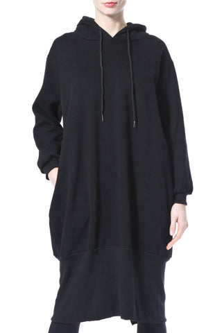 Pearl Trim Sweatshirt Dress