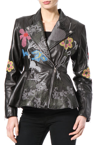 Statement Leather Jacket