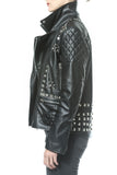 Studded Leather Moto