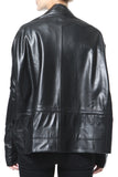 Butter Soft Drawstring Leather Jacket