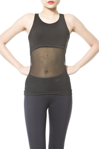 SEAMLESS SECOND SKIN MOCK NECK