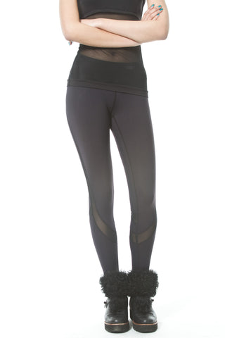 Sheer Sides Sports Legging