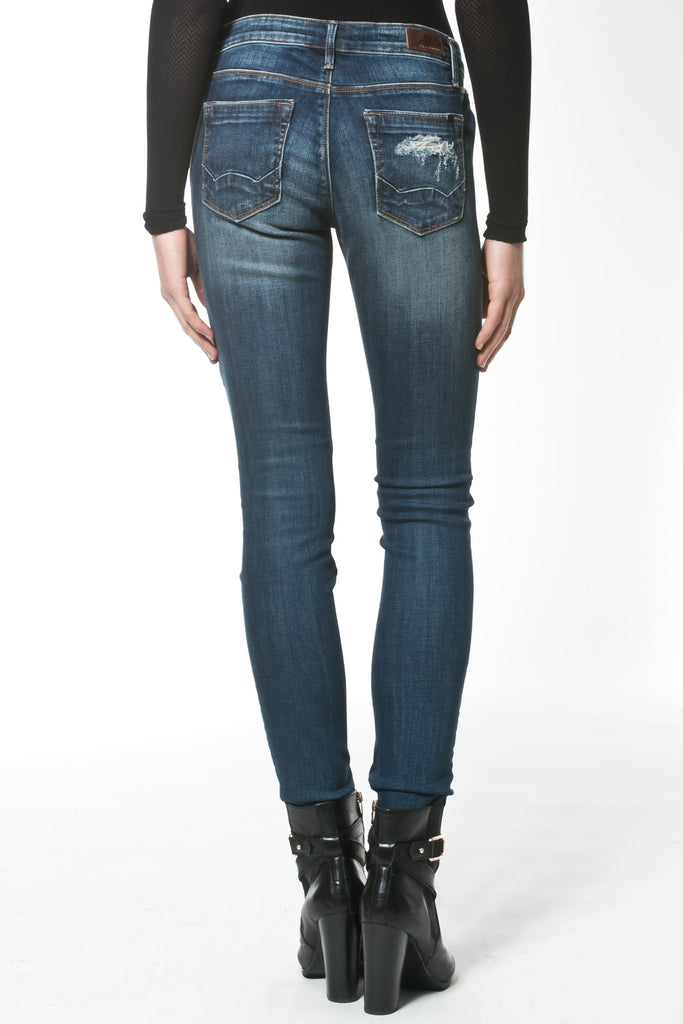 DISTRESSED MID-RISE JEAN - Madonna and Co - 3