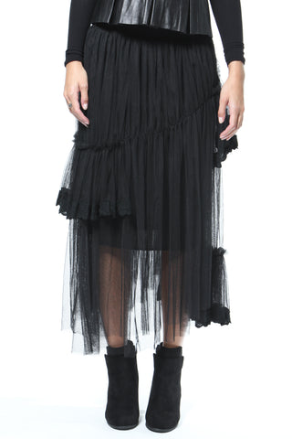 Sheer Statement Tunic-Dress