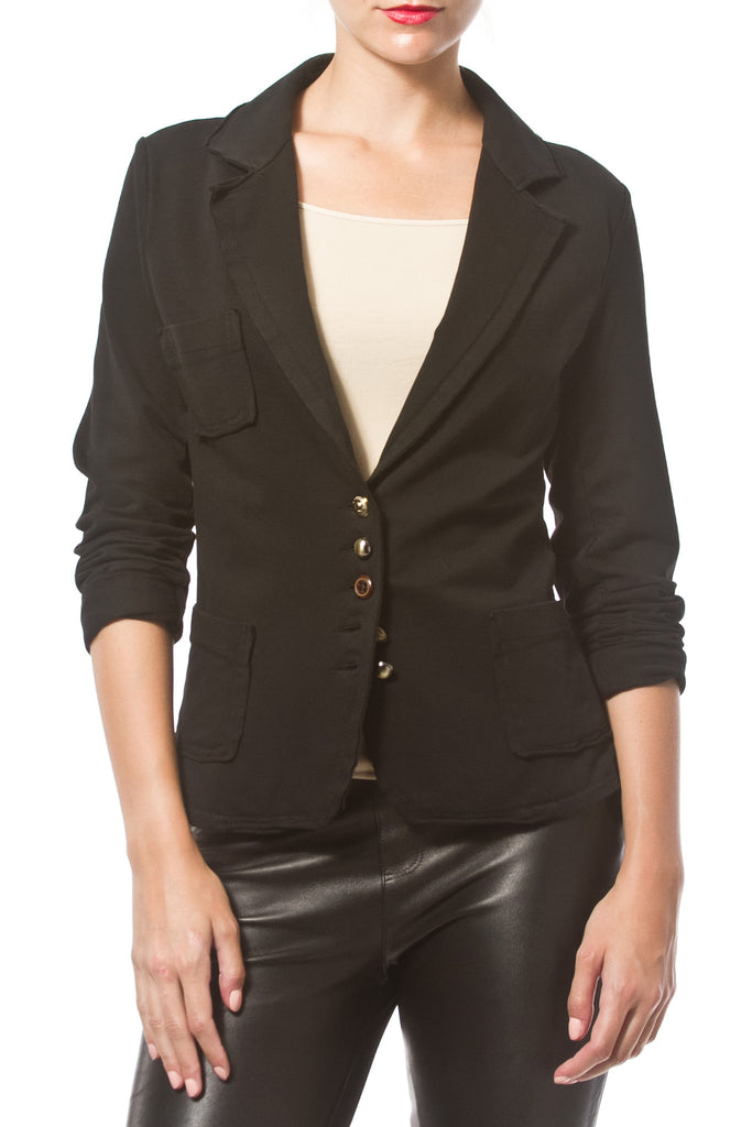 STRETCH KNIT BLAZER - Madonna and Co - 3