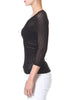 Textured Seamless 1/2 Sleeve