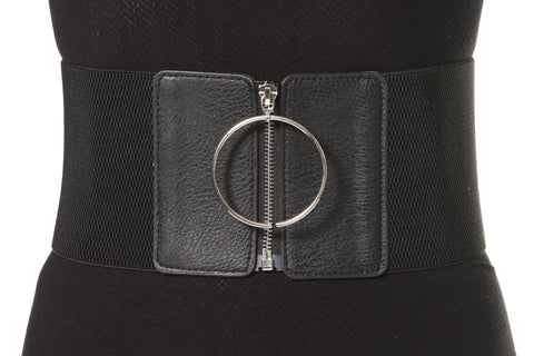 Elastic Belt With Front Closure